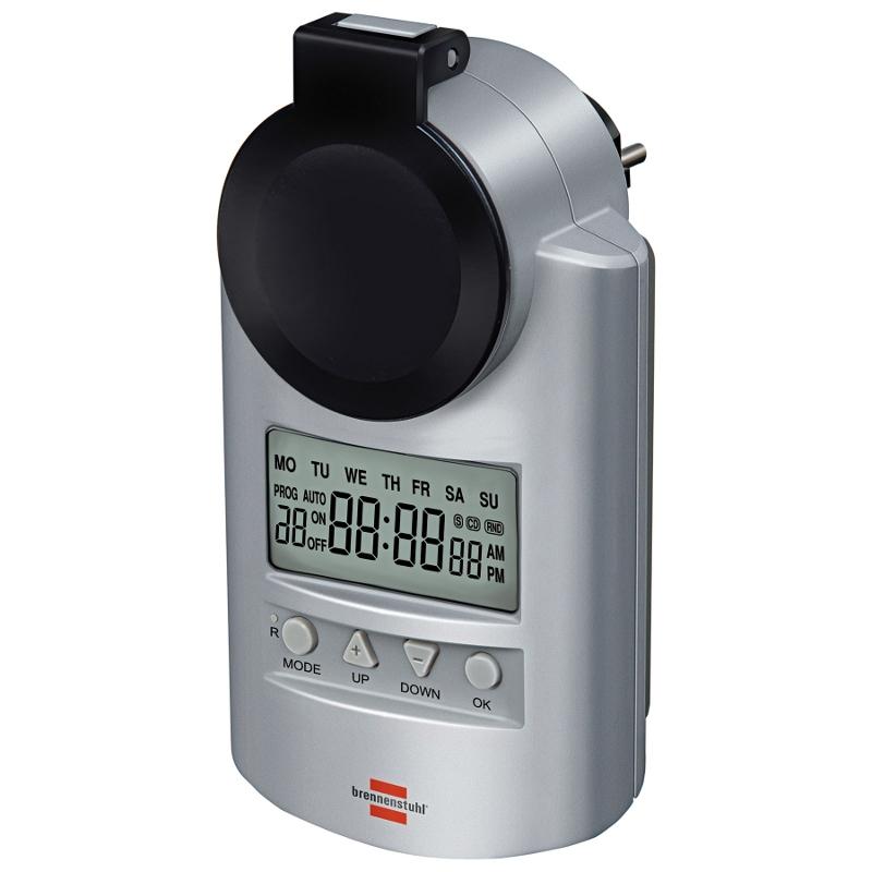 Wyłącznik czasowy programator sterownik niemiecki DT IP 44 brennenstuhl zegar sterujący timer czasowy programator