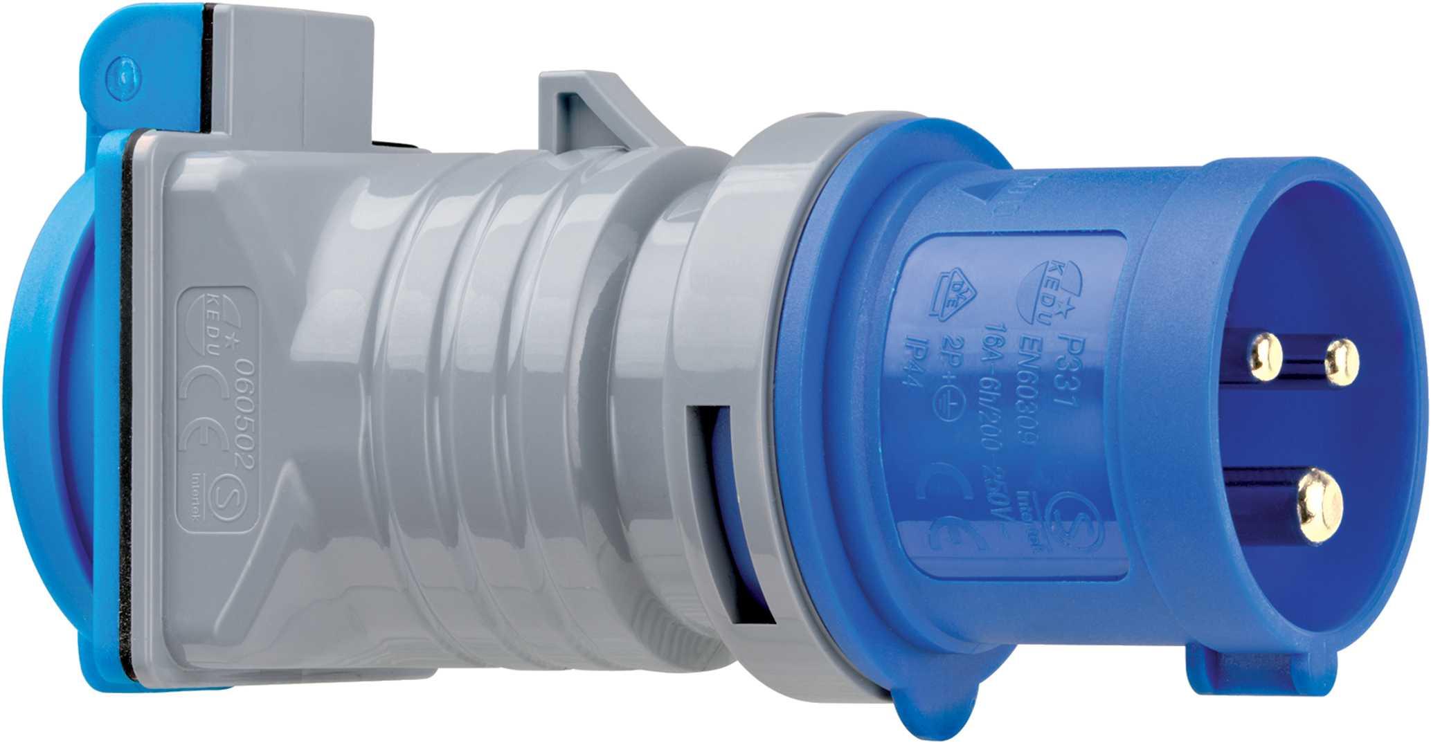 adapter przejściówka wtyczka CEE gniazdo 230v