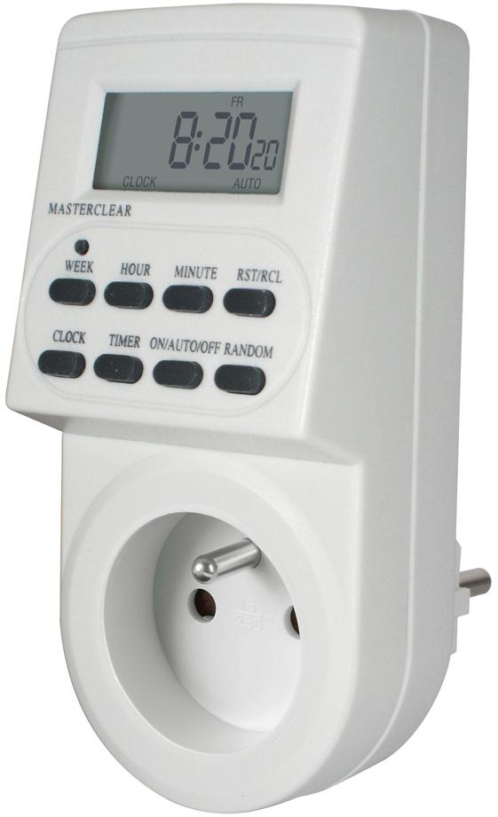 programator sterownik wyłącznik timer czasowy cyfrowy programator do choinki sterowania oświetleniem