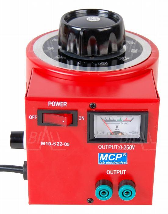 Autotransformator regulowany 500VA 0,5kVA 250V