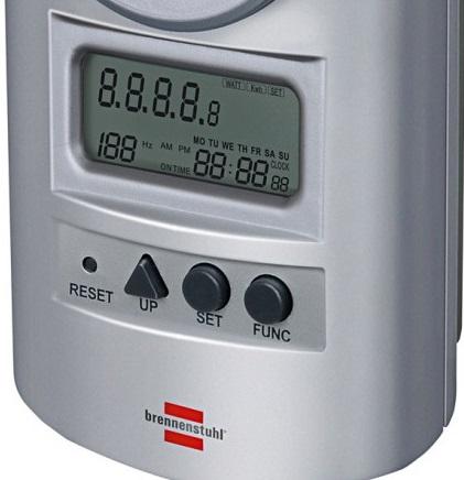 Miernik Watomierz licznik kosztów energii PM 231 E  watomierz licznik kosztów mocy emergii niemiecki