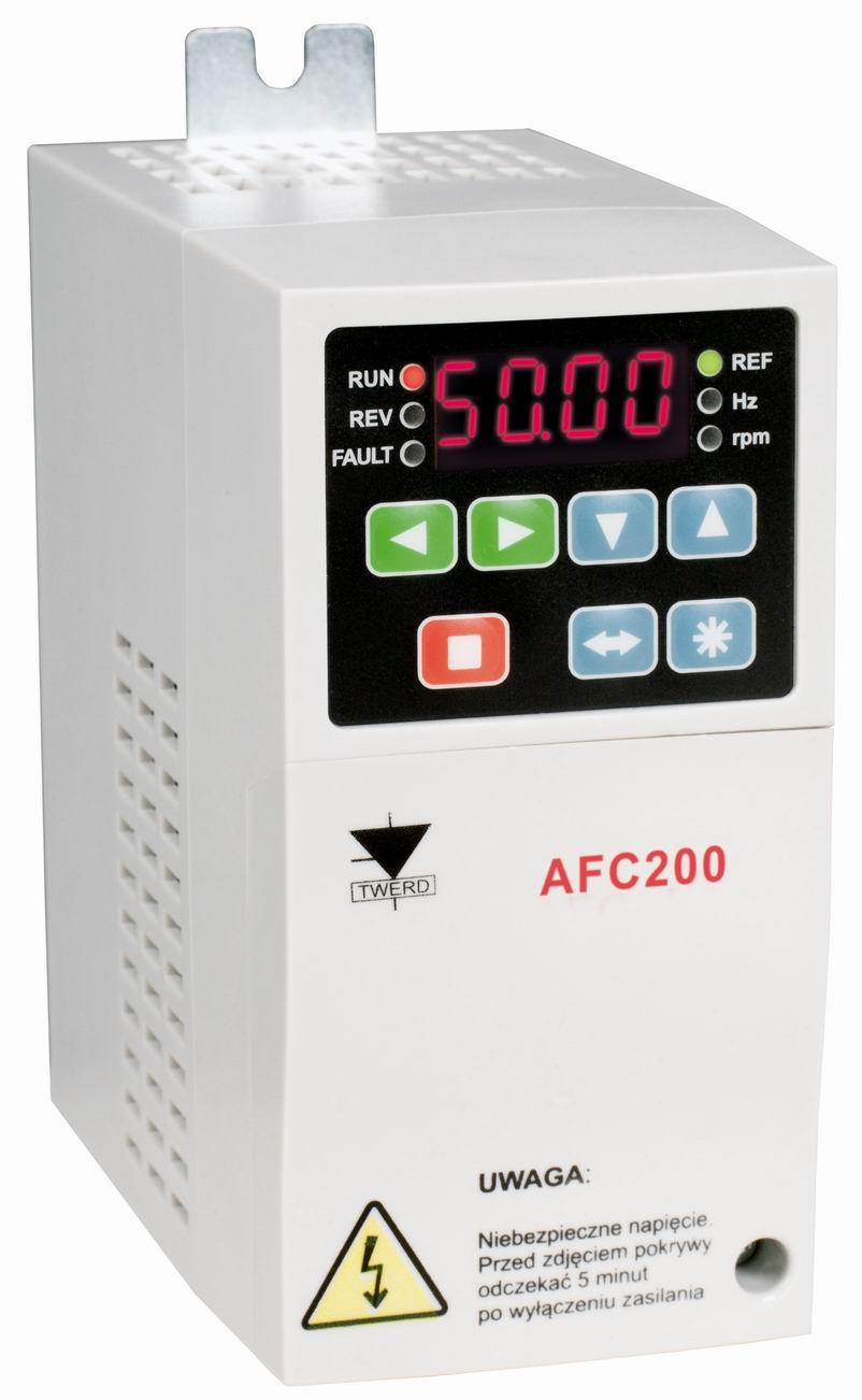 Przemiennik częstotliwości falownik 1,5kW 1faz Twerd AFC200 AFC200