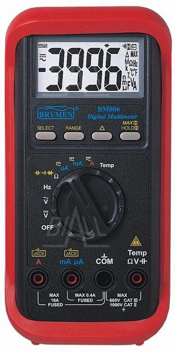 Multimetr miernik BM806 BRYMEN duży wyświetlacz Brymen multimetr bm806