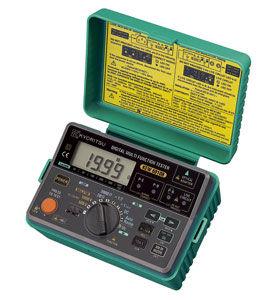miernik instalacji elektrycznej rezystancji izolacji kyoritsu kew6010b kew6010b