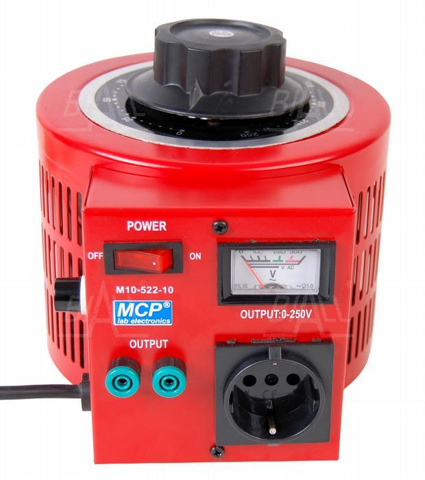 Autotransformator regulowany 1000VA 1kVA 250V 4A