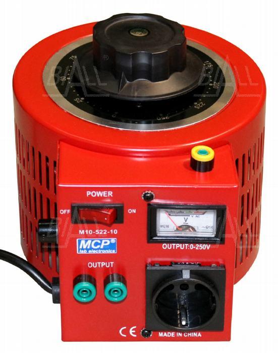 Autotransformator regulowany 2000VA 2kVA 250V 8A