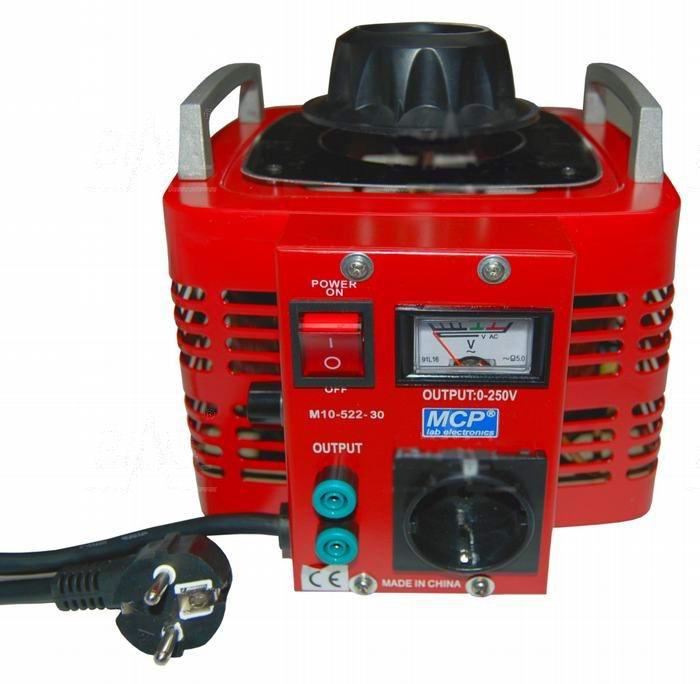 Autotransformator regulowany 3000VA 3kVA 250V 12A