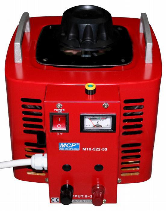 Autotransformator regulowany 5000VA 5kVA 250V 20A
