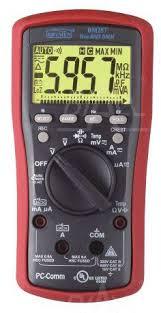 Multimetr cyfrowy miernik brymen BM257 BM257 miernik uniwersalny