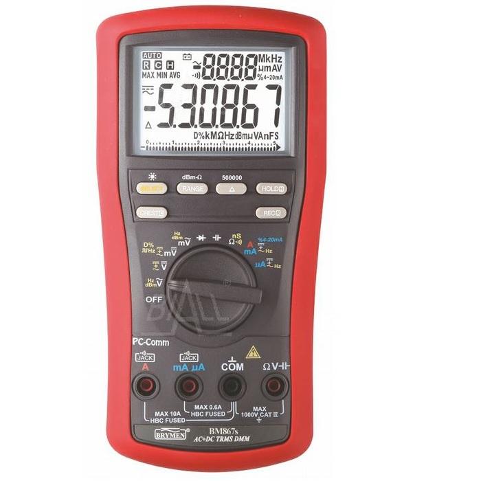 Miernik multimetr  BM867s TRMS(AC+DC) Brymen