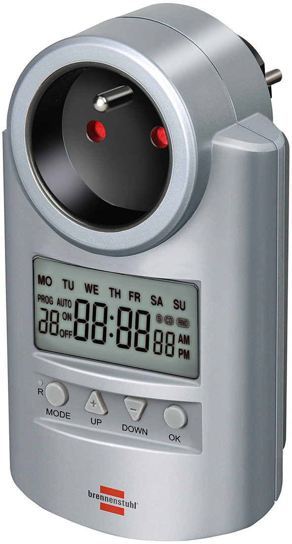 Wyłącznik czasowy programator sterownik niemiecki  DT brennenstuhl zegar sterujący czasowy programator