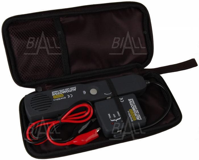 Traser wykrywacz kabli instalacji samochodowych szukacz par przewodów
