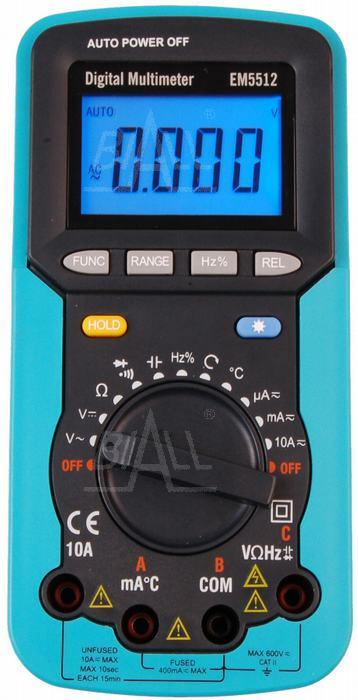 multimetr miernik tester kolejności faz EM5512 FV