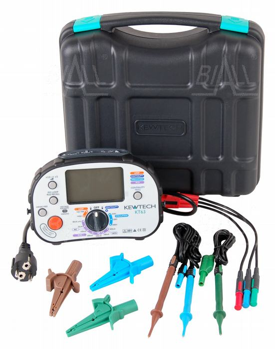 miernik instalacji elektrycznych KT63 KEWTECH miernik instacji elektrycznej test różnicówek