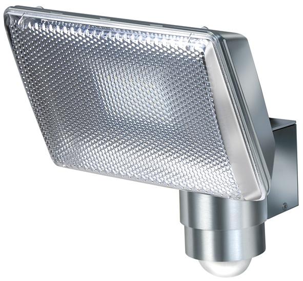 Lampa oprawa LED IP44 z czujnikiem PIR aluminiowa aluminiowa lampa LED 27x0,5W klasa A