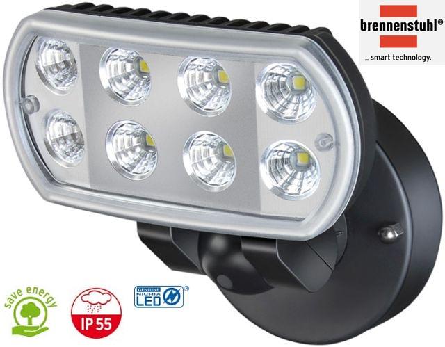 lampa oprawa led 8x1w 850lm hermetyczna niemiecka