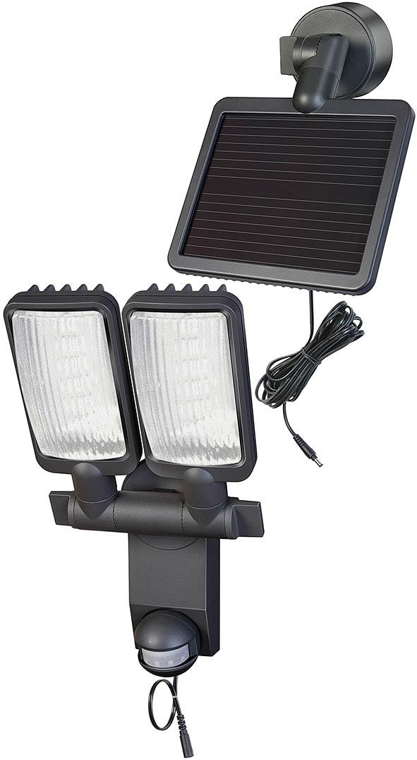 Lampa solarna woltaiczna słoneczna led niemiecka  480lm LED DUO Premium SOL LV1205 P2 IP44 z czujnikiem ruchu na promieniowanie podczerwone 12xLED 0,5W