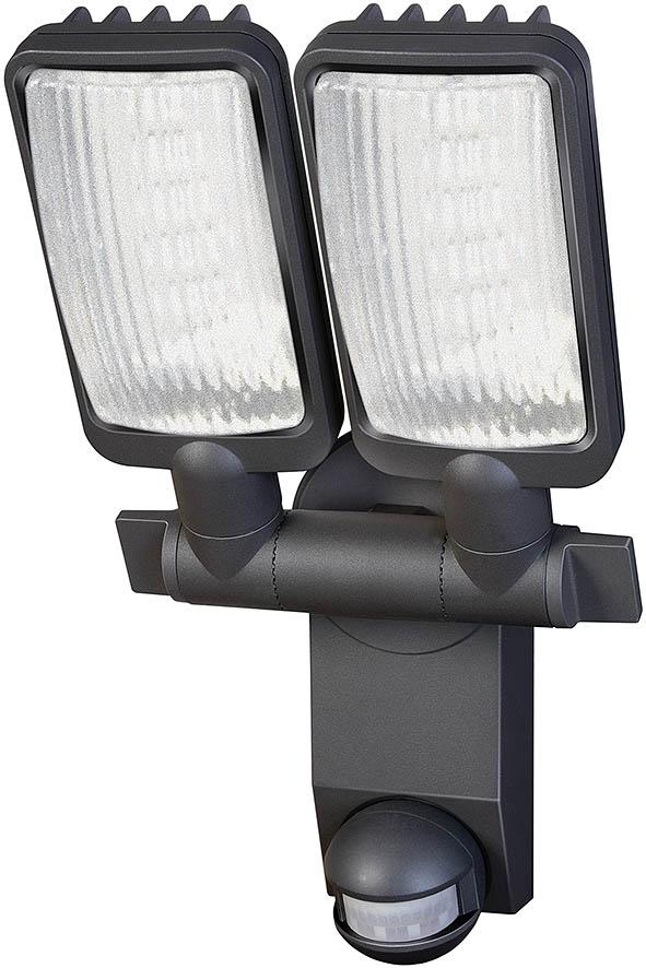 Lampa oprawa LED IP44 z czujnikiem PIR 2160LM aluminiowa lampa LED 54x0,5W klasa A