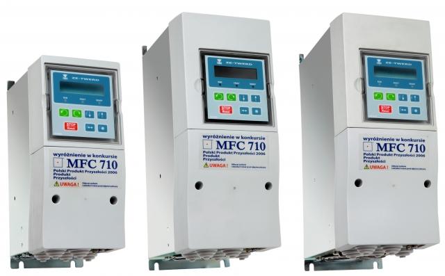Przemiennik częstotliwości falownik 1,5kW 3faz Twerd MFC710 MFC710 1,5kW