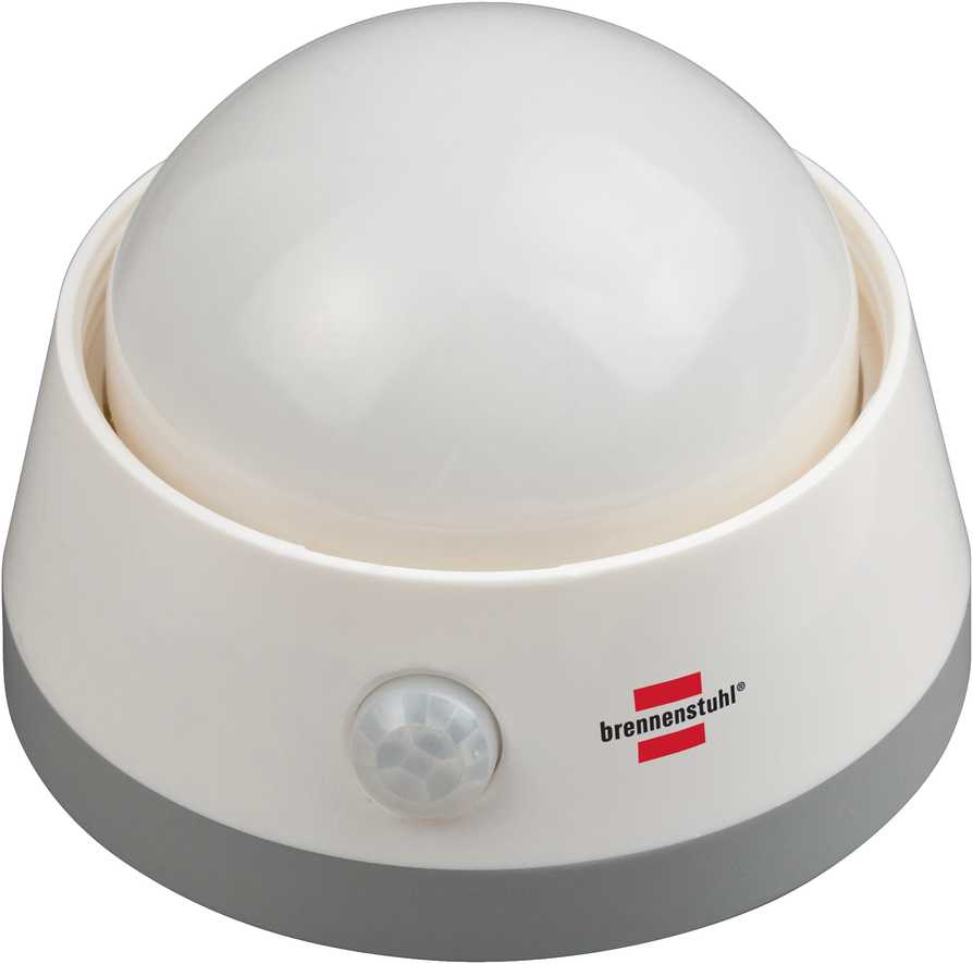 Lampka nocna LED z czujnikiem ruchu na baterie