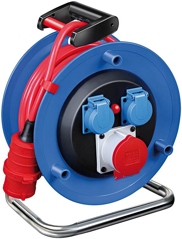 przedłużacz elektryczny siłowy na bębnie 5x1,5 25m 400V IP44 Przedłużacz bębnowy Garant  1182774130