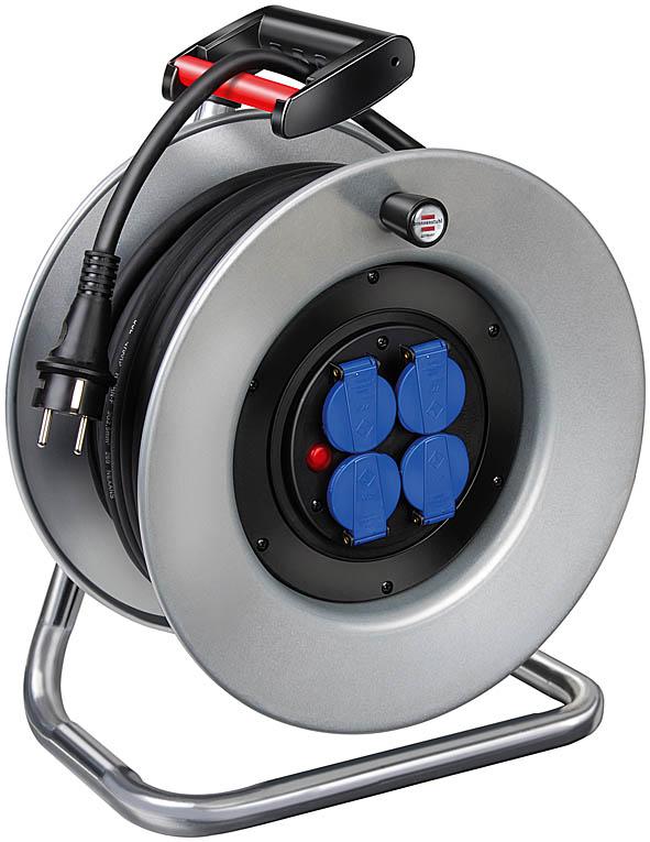 Przedłużacz bębnowy 40m guma 3x2.5 NIEMIECKI GARANT S 290  IP44  H05RR-F