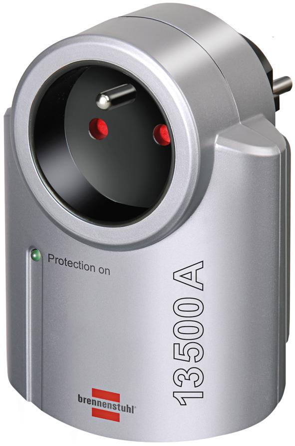 Adapter gniazdo przepięciowy 13500A do listwy przedłużaczy