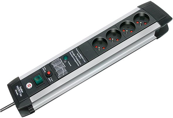 Listwa zasilająca przeciwprzepięciowa Premium-Protect-Line 60.000A 4gn