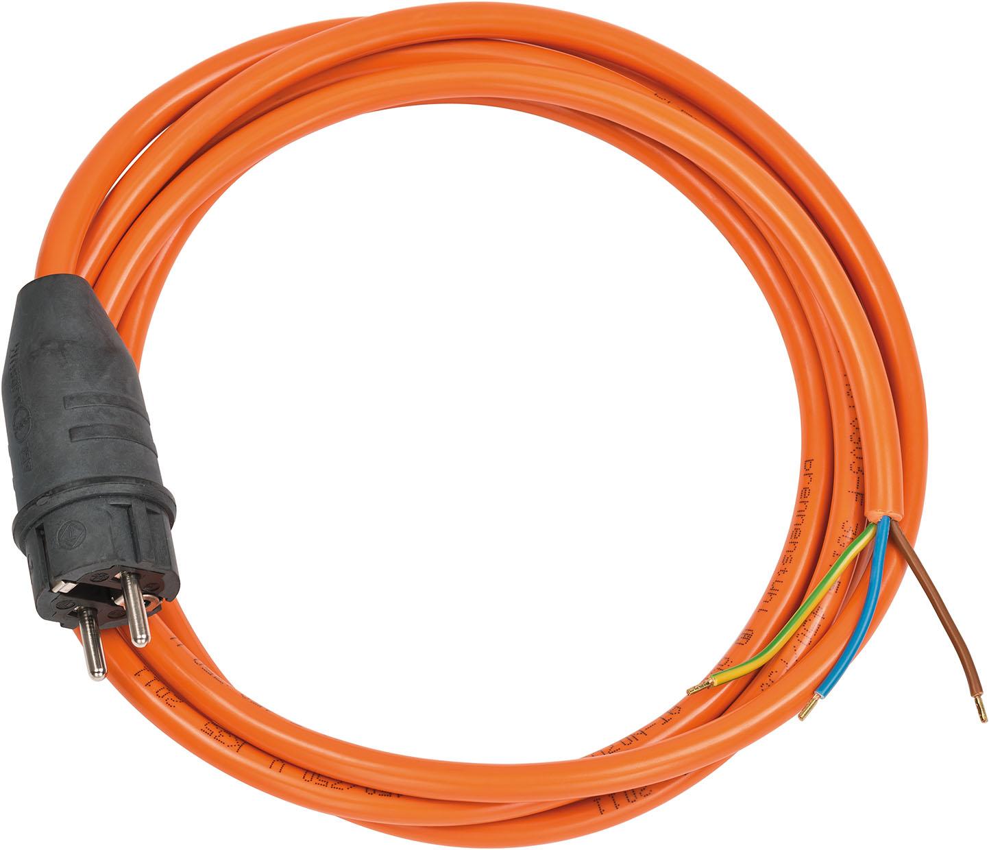 Przewód sznur przyłączeniowy olejoodporny pomarańczowy 3m 3x1,5  brennenstuhl 1160470