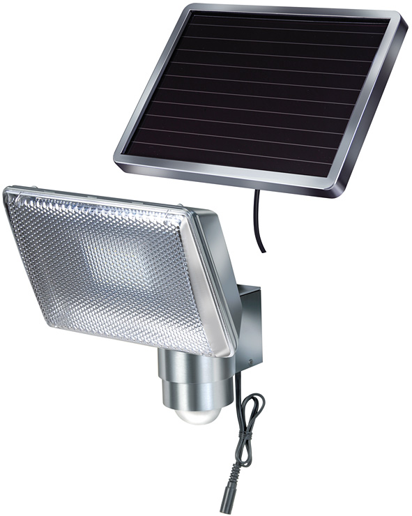 Lampa solarna woltaiczna słoneczna led aluminium
