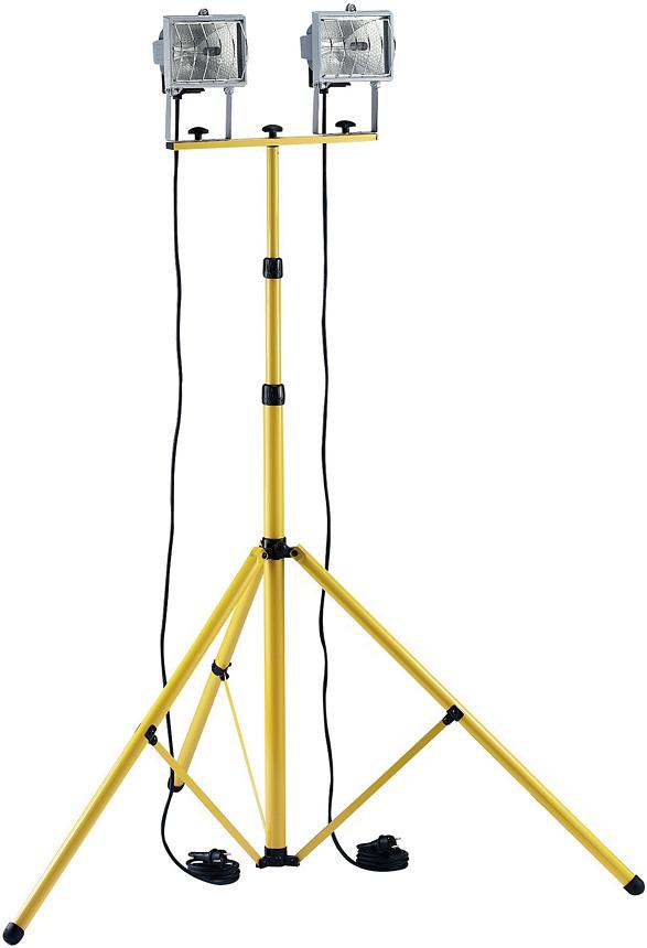 Statyw stojak do opraw halogenów naświetlaczy 3m niemiecki najwyższy 3m statyw