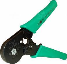 Zaciskarka praska do tulejek 0,08-6mm2 na sześciokąt